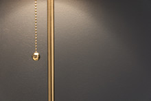 Lamp With A Gold Chain Of The ...
