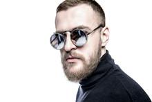 Man In Mirror Sunglasses