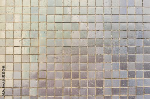 Fliesen Klein Quadratisch Grau Silber Mosaik Hintergrund Textur - Fliesen grau quadratisch