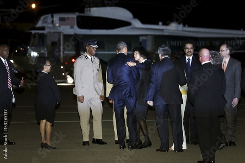 Jamaica's Prime Minister Simpson Miller introduces U S