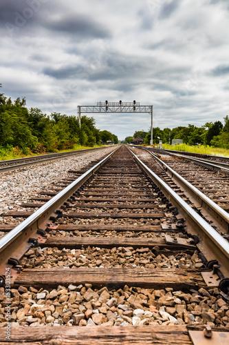 Cuadros en Lienzo transit track and signal