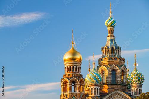 Photo Church of the Savior on Spilled Blood in St. Petersburg, Russia