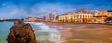 Fototapeta Fototapety z morzem - Plage de Biarritz, Pays-Basque, France