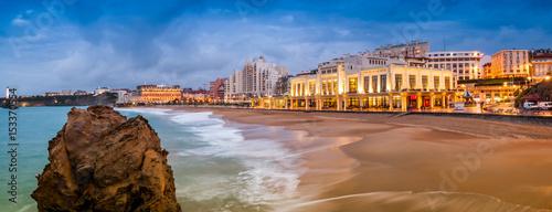 Photo Plage de Biarritz, Pays-Basque, France