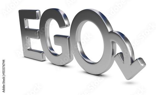 Perte de l'Ego Masculin Canvas-taulu