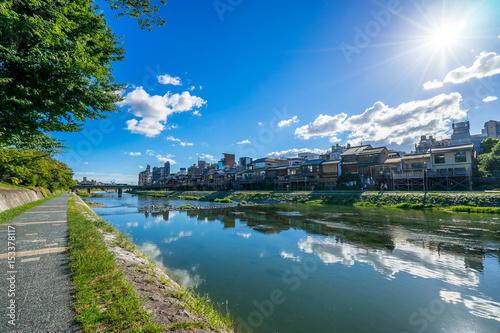 Foto op Plexiglas Kyoto 京都 鴨川 納涼床