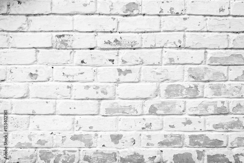 Photo sur Toile Brick wall Brick texture with scratches and cracks