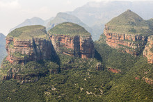 View Of The Three Rondavels, Blyde River Canyon, South Africa
