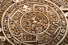 Archeological Aztec Sun Calend...