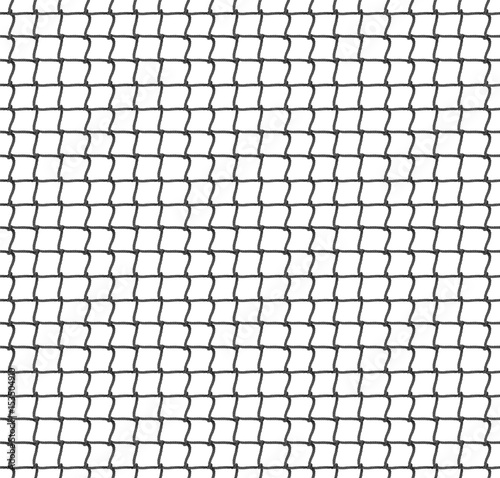 Fotografija Tennis Net Seamless Pattern Background. Vector Illustration