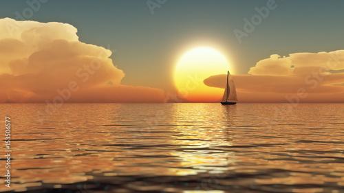 Foto op Plexiglas Zeilen Dream sailing