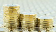 British Money, Three Pound Coi...