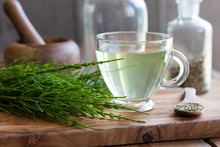Horsetail Tea With Fresh And D...