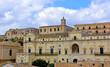 Panorama of Noto Sicily Italy