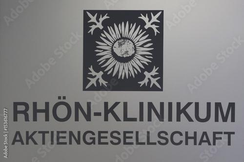 Logo Of German Healthcare Company Rhon Klinikum Ag Is