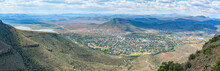 Aerial View Of Graaff Reinet As Seen From The Toposcope