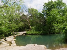 Travertine Creek, Chickasaw Na...