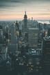 Night View of Manhattan - New York