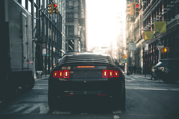 Muscle Car in the Streets