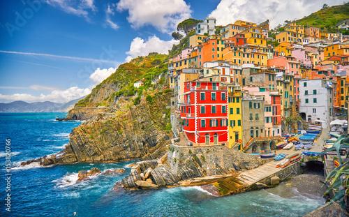 Riomaggiore Cinque Terre Italy Coast