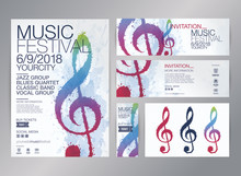 Idea Of Designs For Music Events.