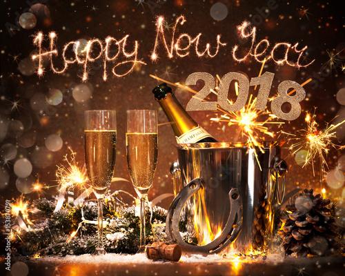 Photo  New Years Eve celebration