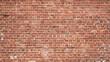 Leinwanddruck Bild - Brick Wall Background