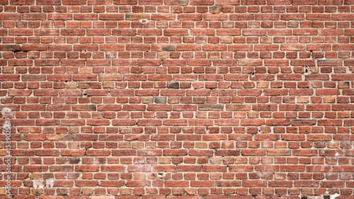 Deurstickers Baksteen muur Brick Wall Background