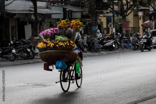 Fototapeta street vendors obraz na płótnie