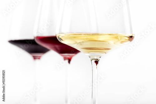 Fotografie, Obraz  Wine glasses