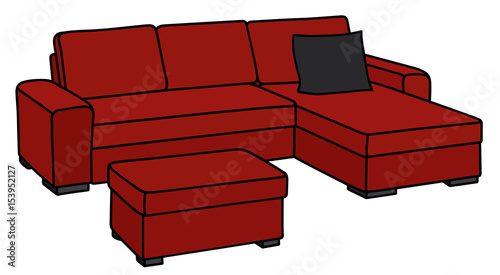 Strange Dark Red Sofa Buy This Stock Vector And Explore Similar Alphanode Cool Chair Designs And Ideas Alphanodeonline