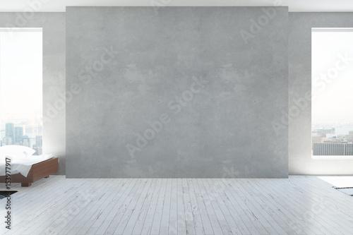 Obraz Empty concrete wall - fototapety do salonu