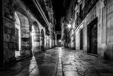 Fototapeta Na drzwi - A street in the center of Avil s. In the north of Spain- Asturias