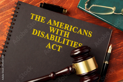 Obraz Book with title The Americans with Disabilities Act (ADA). - fototapety do salonu