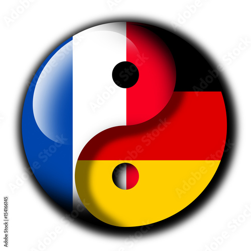 Germany And France As Yin And Yang Positive Relation Between