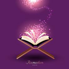 Muslim Quran With Magic Light ...