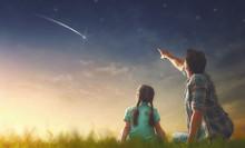 Looking At Falling Star