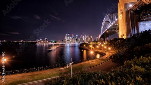 Sydney nightlight, Australia Wallpaper Mural