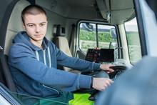 Truck Driver Reversing
