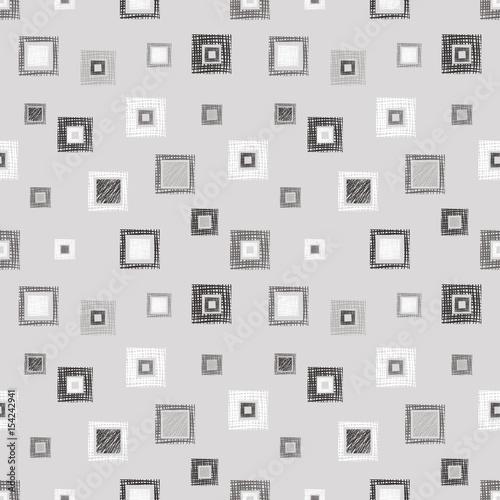 bezszwowy-wektorowy-geometrical-wzor-z-rhombus-kwadraty-niekonczace-sie-tlo-z-recznie-rysowane