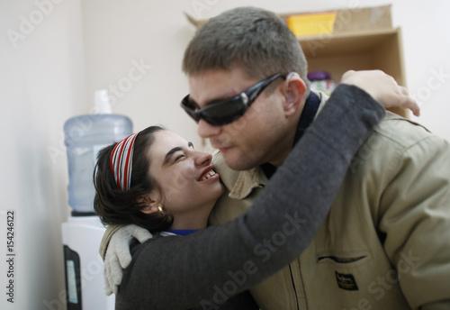 deaf blind dating