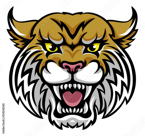 Fényképezés  Wildcat Bobcat Mascot