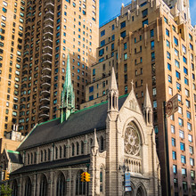Church In New York Manhattan C...