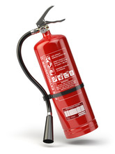 Fire Extinguisher Isolated On ...