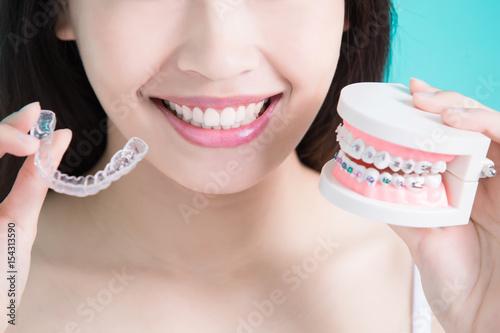 Photo healthy dental concept