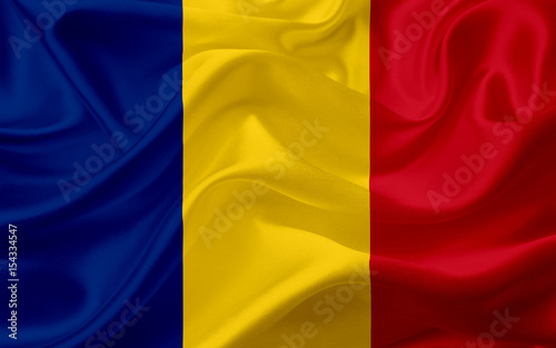 flag-of-romania-with-waving-fabric-texture