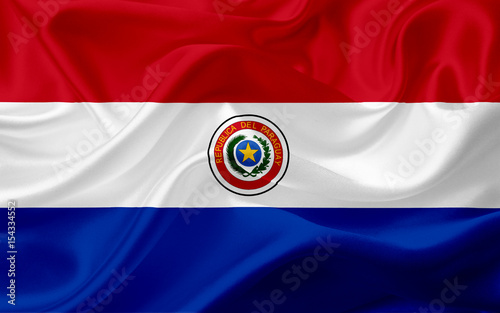 flag-of-paraguay-with-waving-fabric-texture