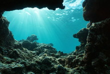 Underwater Sunlight Through Wa...