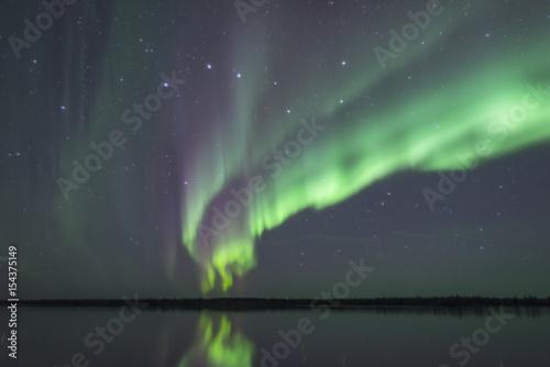 Photo  Symmetric Aurora