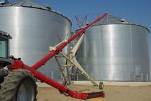 Storing Grain:  A Tractor-driv...